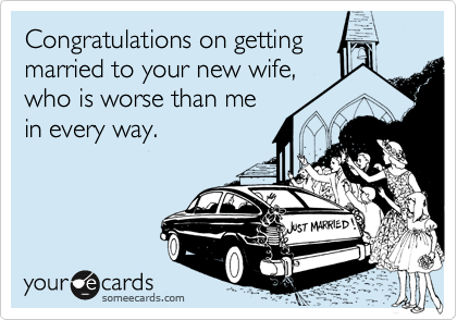 Congratulations on getting