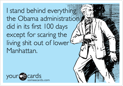 I stand behind everything