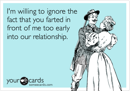 I'm willing to ignore the