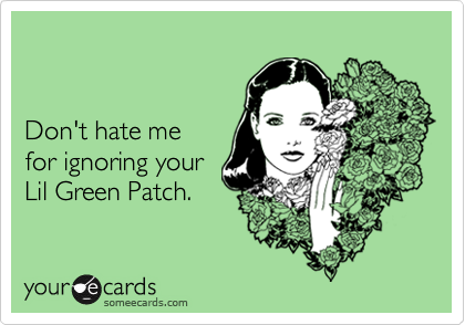 Don't hate me 