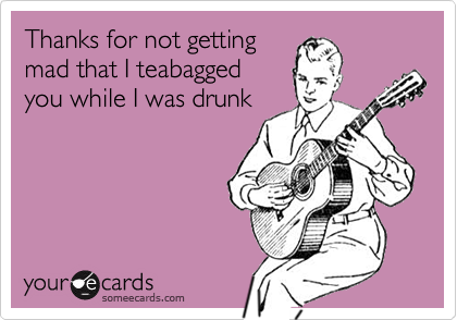 Thanks for not getting