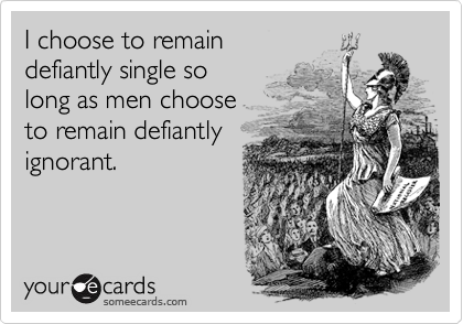 I choose to remain 