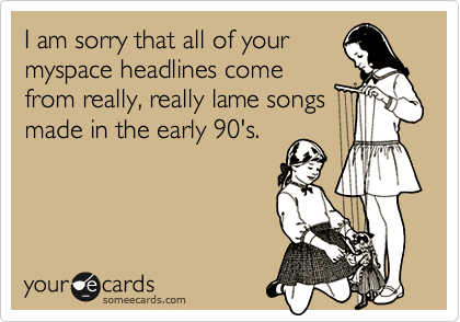 I am sorry that all of your