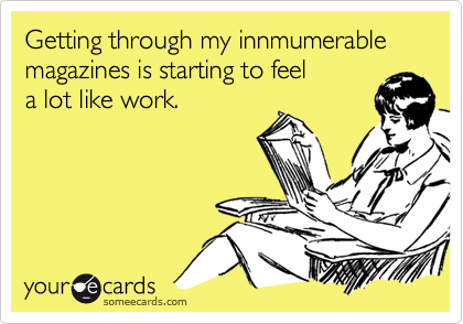 Getting through my innmumerable