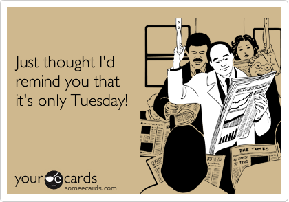 Just thought I'd