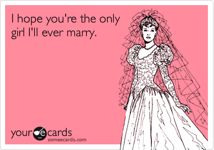 I hope you're the only