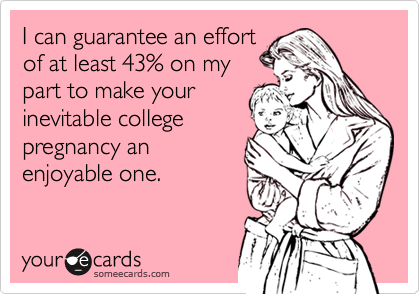 I can guarantee an effort