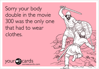 Sorry your body