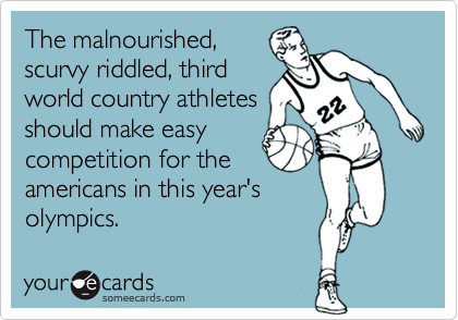 The malnourished,