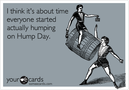 I think it's about time