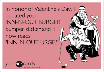 In honor of Valentine's Day, I