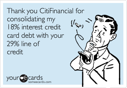 Thank you CitiFinancial for