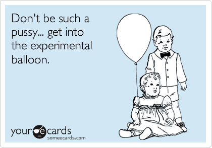 Don't be such a