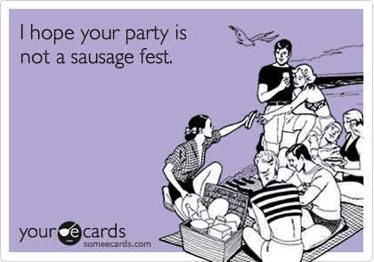 I hope your party is 
