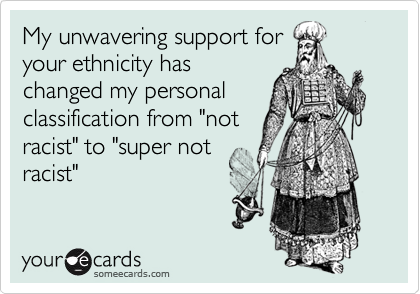 My unwavering support for