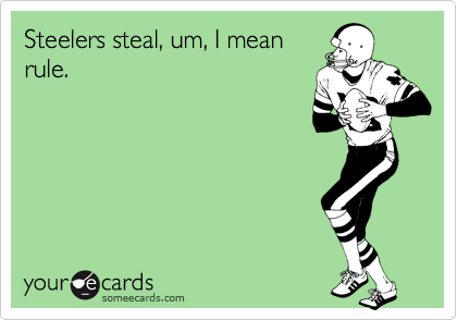 Steelers steal, um, I mean