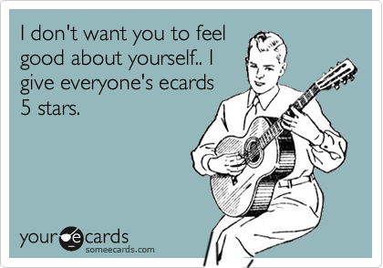 I don't want you to feel