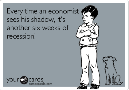 Every time an economist