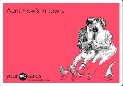 When aunt flos in town