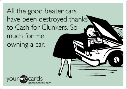 All the good beater cars