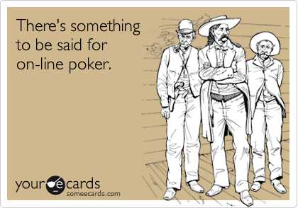 There's something