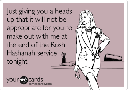 Just giving you a heads