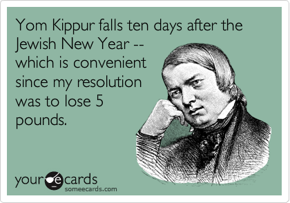 Yom Kippur falls ten days after the Jewish New Year --