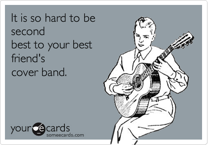 It is so hard to be