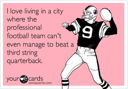 I love living in a city