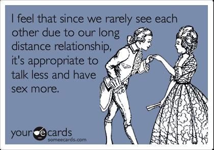 long distance sex talk