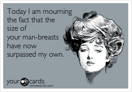 Today I am mourning