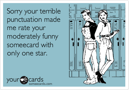 Sorry your terrible