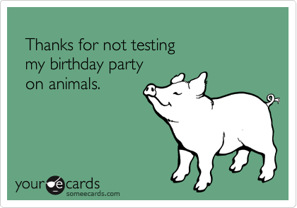 Thanks for not testing 