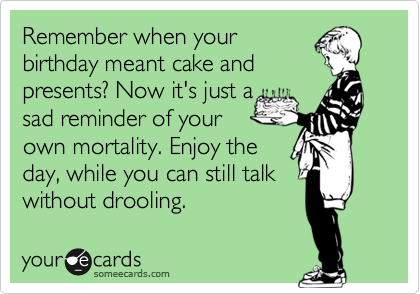 Remember when your