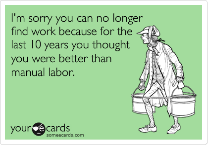 I'm sorry you can no longer