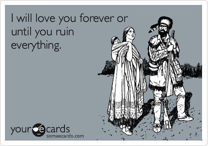 I will love you forever or