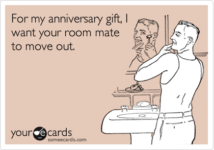 For my anniversary gift, I