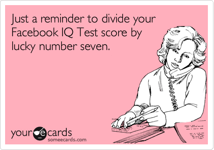 Just a reminder to divide your