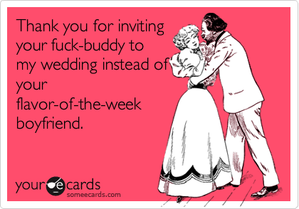 Thank you for inviting