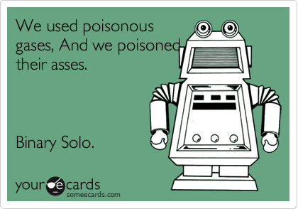 We used poisonous