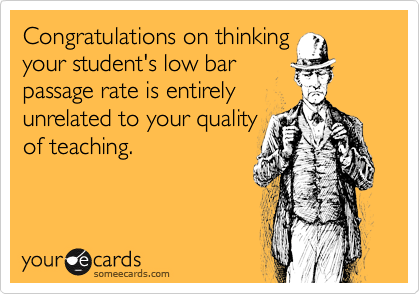 Congratulations on thinking