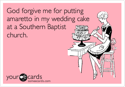 God forgive me for putting