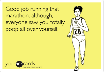 Good job running that