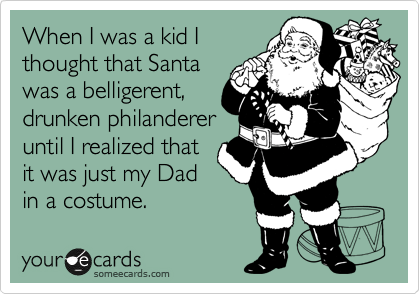 When I was a kid I