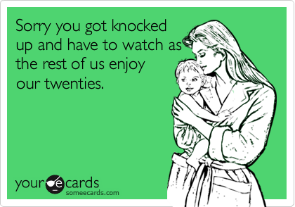 Sorry you got knocked