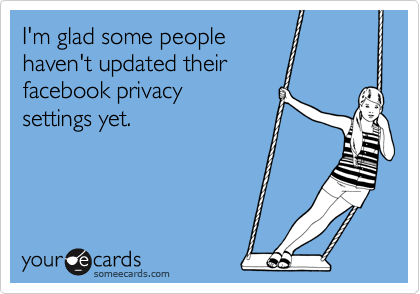 I'm glad some people