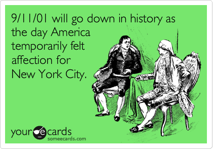 9/11/01 will go down in history as the day America