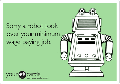 Sorry a robot took