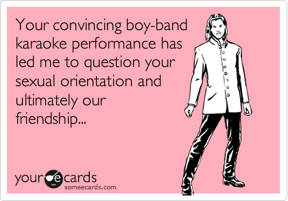 Your convincing boy-band