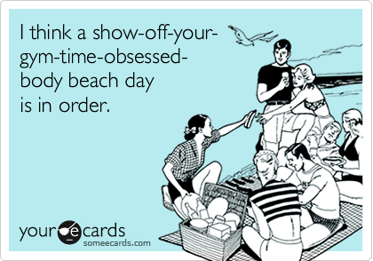 I think a show-off-your-